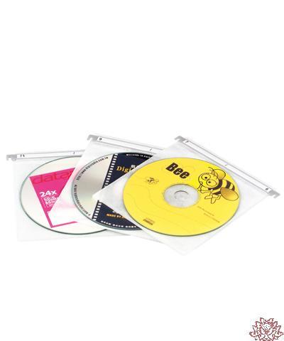 【雙鶖FLYING】CD-5008 2片懸掛式CD內頁保存袋20入/包