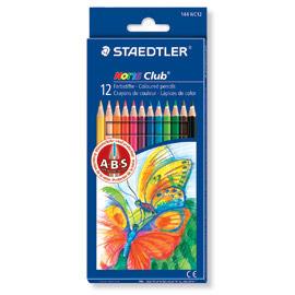 祕密花園 繪本 紓壓 【施德樓】 MS144NC12 快樂學園 油性色鉛筆12色入 / 盒