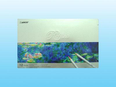 【萬事捷】4540 12色 鐵盒裝油性彩色鉛筆