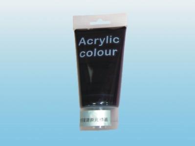 【萬事捷】4600-01 SG-801 壓克力水彩顏料(黑) (12瓶/盒)