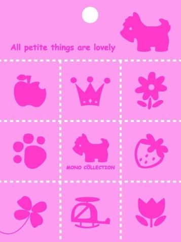 【美加美】文具紙品-Mono PVC9塊磁鐵-粉紅 AM5253/包
