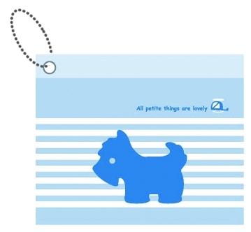 【美加美】文具紙品-Mono 粉藍PVC車票套 AM2006/個