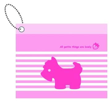 【美加美】文具紙品-Mono 粉紅PVC車票套 AM2005/個