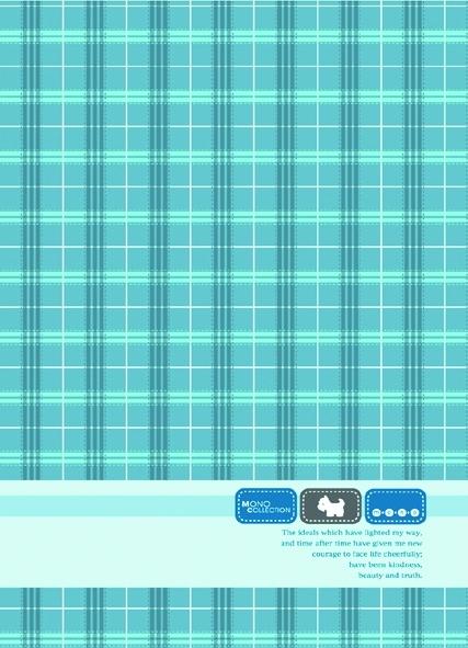 【美加美】文具紙品-MonoA4布格紋橫線筆記(32張)-藍AM1508/6本入