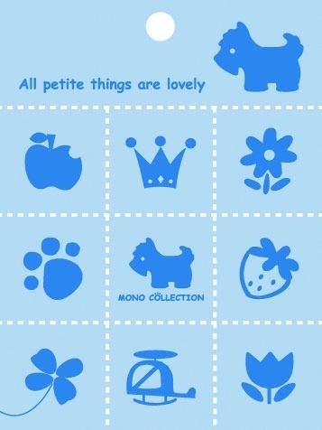 【美加美】文具紙品-Mono PVC9塊磁鐵-粉藍 AM5254/包