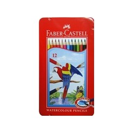 祕密花園 繪本 紓壓 輝柏 115913 水性彩色鉛筆 12色 (鐵盒裝)