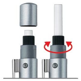 FABER-CASTELL 輝柏 131558 GRIP 2011自動鉛筆專用橡皮擦 10個入 / 包