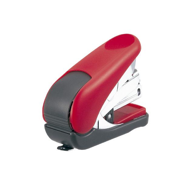 【Plus普樂士】ST-010VH 雙排平針輕鬆訂迷你機(紅)