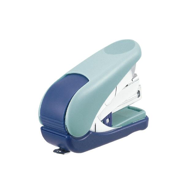 【Plus普樂士】ST-010VH 雙排平針輕鬆訂迷你機(淺藍)