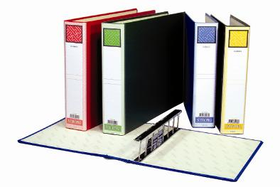【自強文具】638L電腦8孔夾(箱裝)