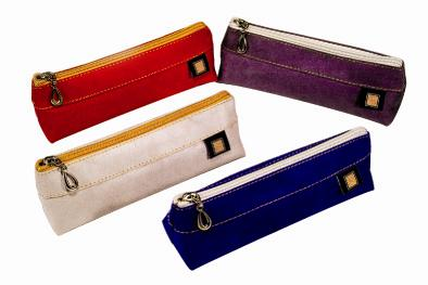 【自強文具】SD-933三角筆袋(紅、藍、灰、紫)