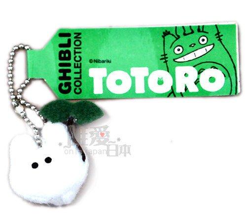 【真愛日本】5051000092 Q版珠鍊小吊飾-白龍貓 龍貓 TOTORO 鑰匙圈 掛飾
