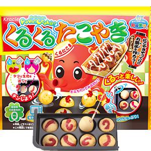 日本Kracie 知育菓子 知育果子 手作章魚燒DIY [JP332]