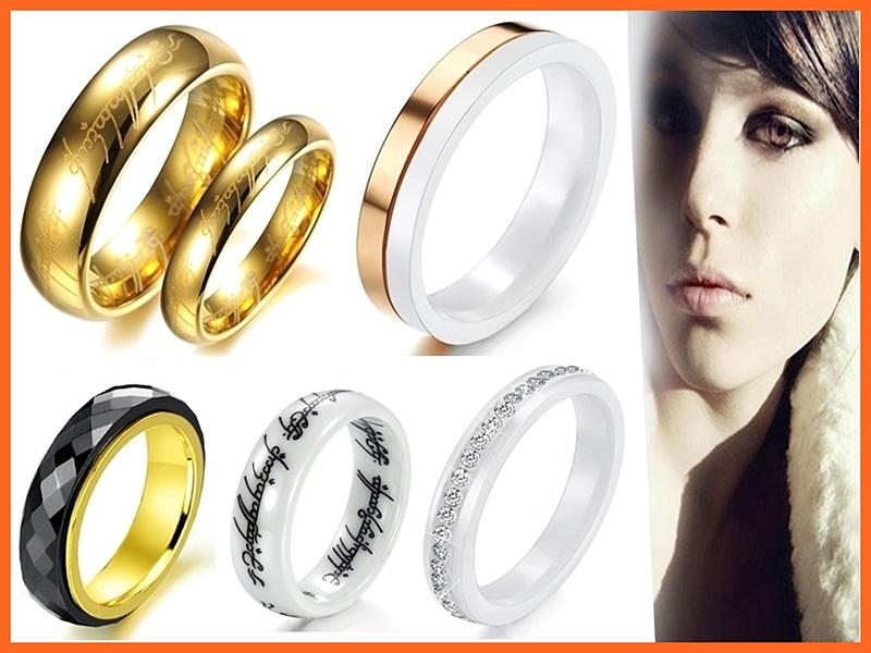 《316小舖》特價每個219元【精選68款頂級鎢鋼戒指 陶瓷戒指-單件價 生日禮物 魔戒女戒指 男戒指 項鍊對戒尾戒子】