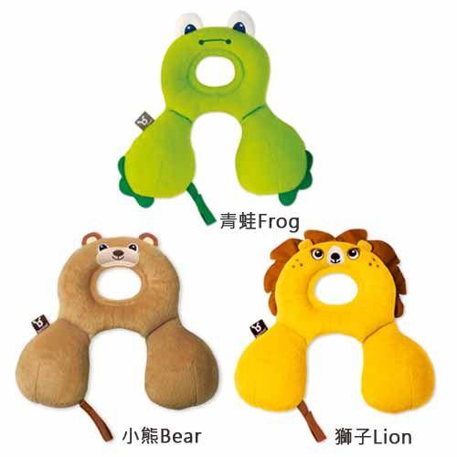 ★衛立兒生活館★Benbat寶寶旅遊頸枕 0-12個月(青蛙/獅子/小熊)