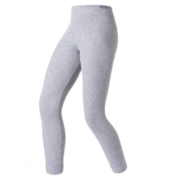 【【蘋果戶外】】odlo 152041 女褲 灰『送polartec手套』瑞士 機能保暖型排汗內衣 衛生衣 發熱衣 保暖衣 長袖