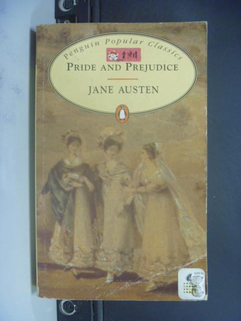 【書寶二手書T6/原文小說_KPK】Pride and prejudice_Jane Austen