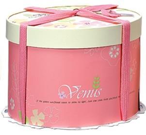 【基本量】手提圓型蛋糕盒/維娜斯 14吋/40個