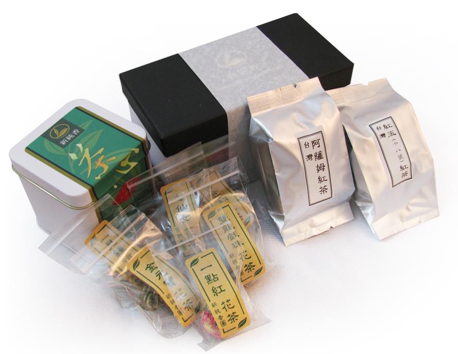 綜合花茶台灣紅茶禮盒