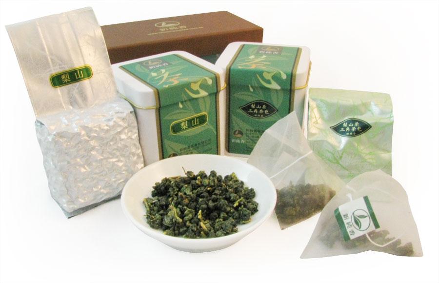 [一次購買50組] 最佳伴手禮組合-梨山高山茶✙梨山茶三角立體茶包