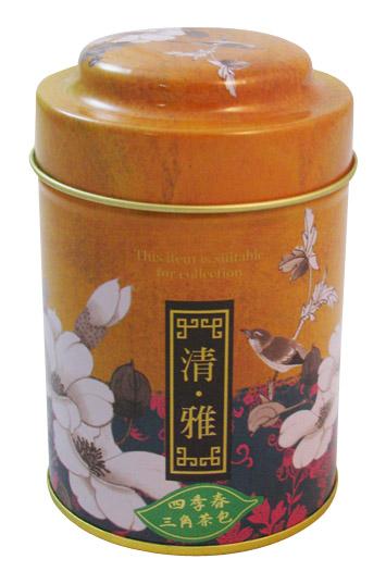 四季春茶三角茶包-18袋罐裝