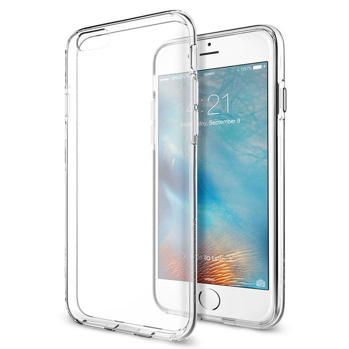 Spigen iPhone 6S Plus Liquid Crystal-超輕薄型彈性保護殼