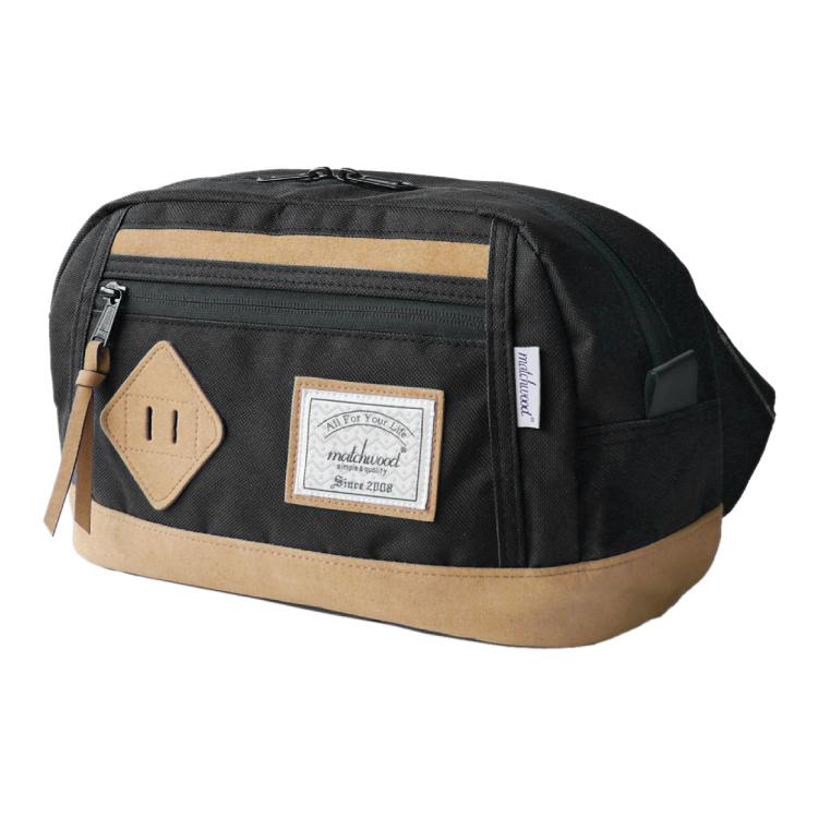 REMATCH - Matchwood Density 腰包 黑色款 斜背包 側背包 隨身包 胸前包 單車運動 / 旅遊休閒隨身 / HEADPORTER / Herschel / Supreme 可參考