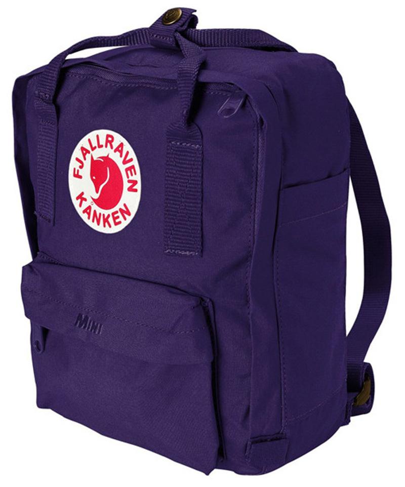 【鄉野情戶外專業】 Fjallraven |瑞典|  小狐狸 Kanken Mini 方型書包 方型背包 後背包 (紫色) _23561