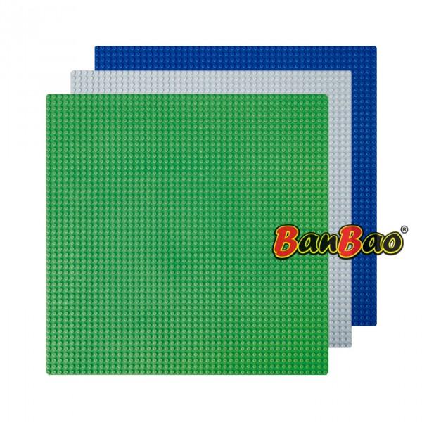 【BanBao 積木】其它配件-積木專用大底板 8492 (共三款可選,樂高通用) (單筆訂單購買再加送積木拆解器一個)