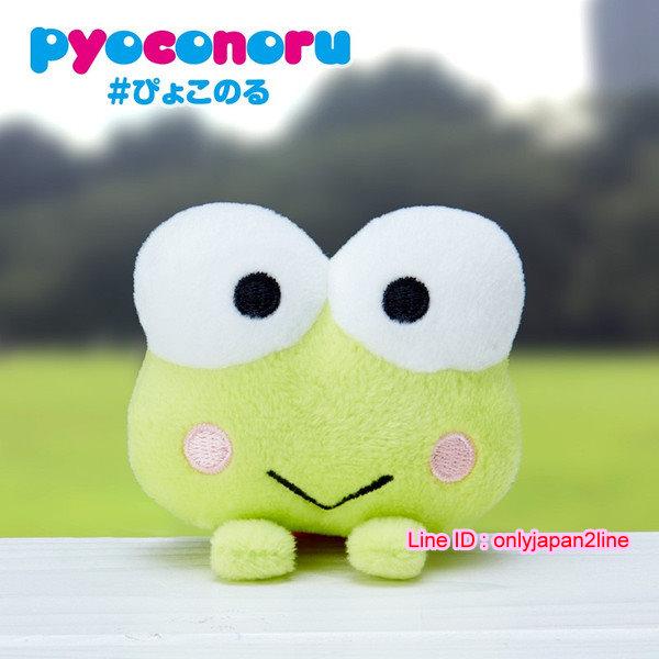 【真愛日本】16110400011造型趴趴玩偶-KR紅條衣    三麗鷗家族  Keroppi 大眼蛙   娃娃 玩偶
