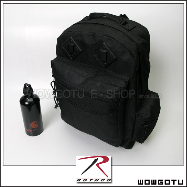 【ROTHCO 】2330 DELUXE WATER RESISTANT DAY PACK - W推薦!! 黑色