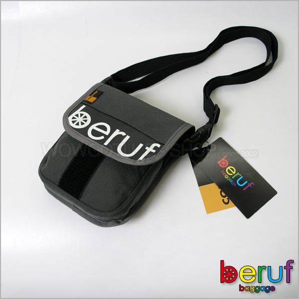 【 BERUF 】與眾不同.日本最激潮貨Messenger Bag - 11S 深灰色 - 好評發售中