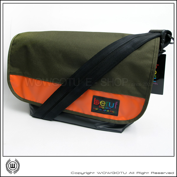 【 BERUF 】Messenger Bag -13M(04) - 專業級郵差包 好評發售中(軍綠)