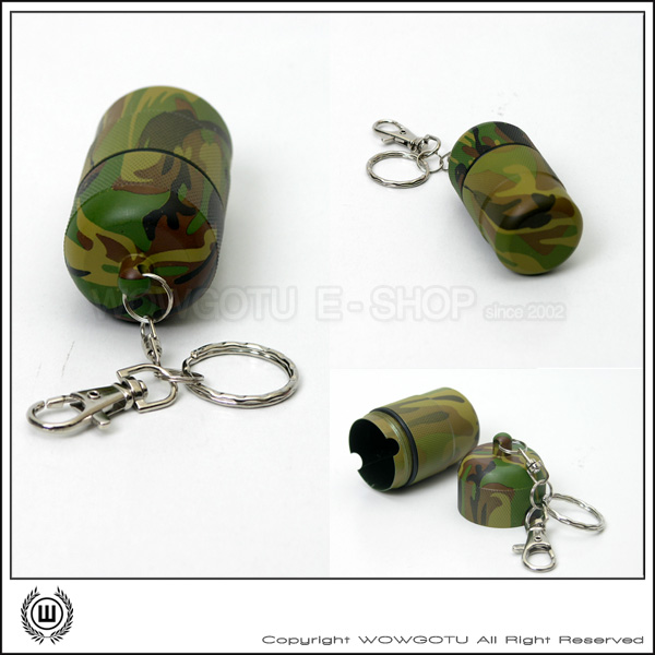 【ROTHCO 】663 CAMOUFLAGE UTILITY CAPSULE 軍用迷彩隨身罐