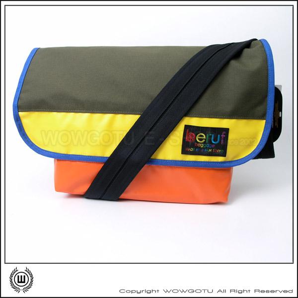 【 BERUF 】Messenger Bag -13M(06) - 專業級郵差包 好評發售中(黃綠橘)