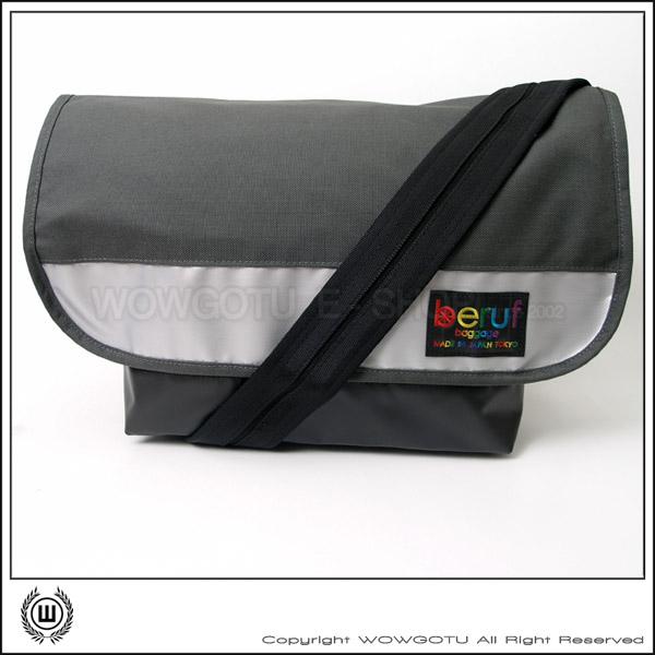 【 BERUF 】Messenger Bag -13M(05) - 專業級郵差包 好評發售中(銀灰)