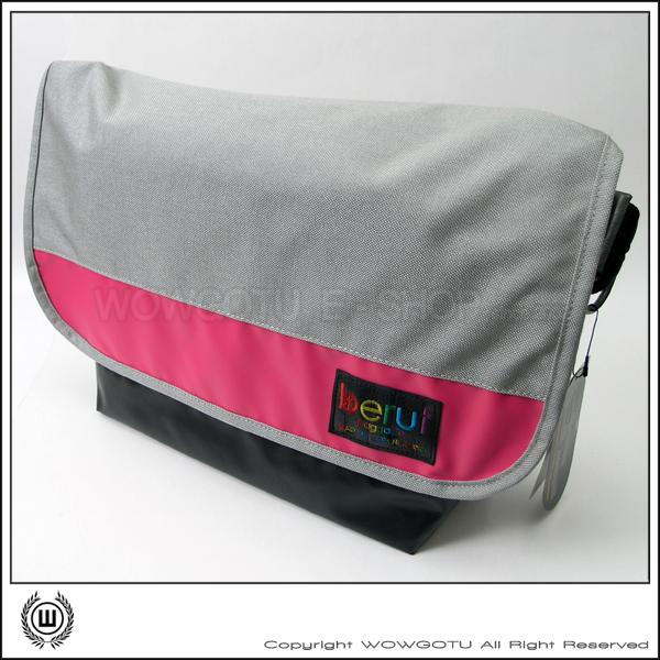 【 BERUF 】Messenger Bag -13M(09) - 專業級郵差包 好評發售中(灰粉)