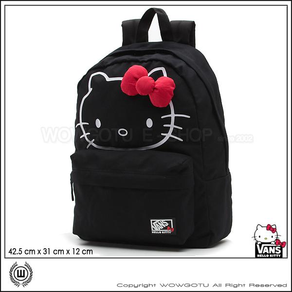 VANS SHOES - VANS x Hello Kitty Backpack後背包(黑)