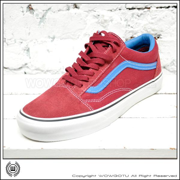 VANS SHOES - VANS OLD SKOOL 41010513 (紅藍配色)