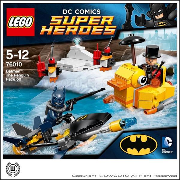 LEGO  76010 : Super Heros 超級英雄系列 - Batman: The Penguin Face Off