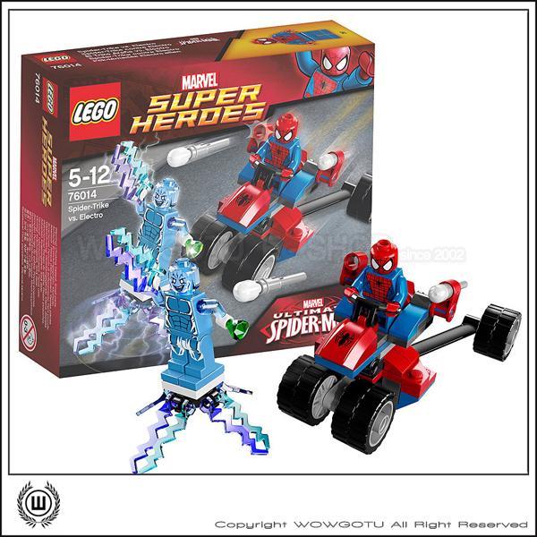 LEGO  76014 : Super Heros 超級英雄系列 - Spider-Trike vs. Electro