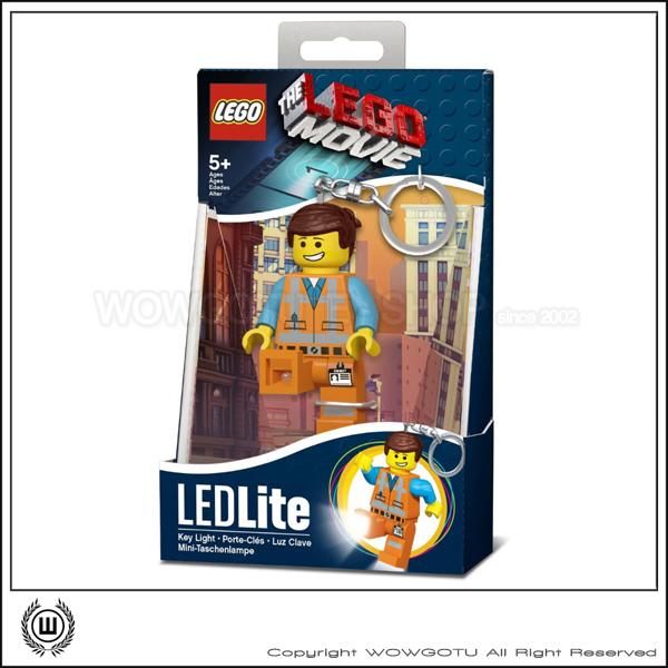 LEGO Movie LEDLITE Emmet 鑰匙圈+LED 超好用推薦!