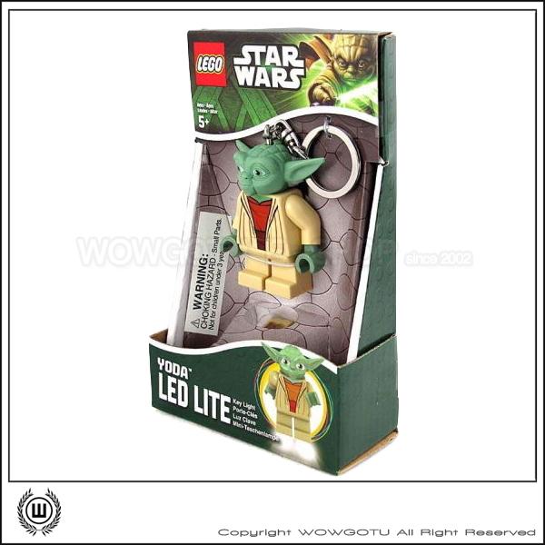 LEGO Star Wars YODA 鑰匙圈+LED 超好用推薦!
