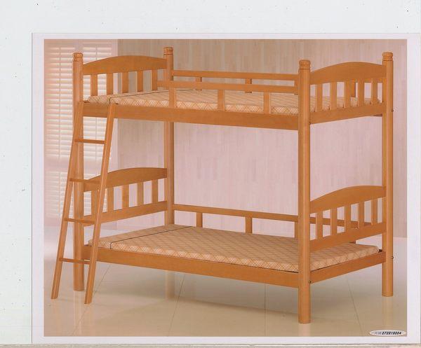 【石川家居】OU-655-4 白木3.5尺高腳雙層床 (不含其他商品) 需搭配車趟