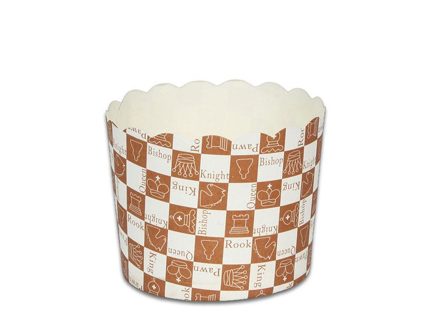 瑪芬杯、杯子蛋糕、烘烤紙杯 MF6256-12 西洋棋(50pcs/包)