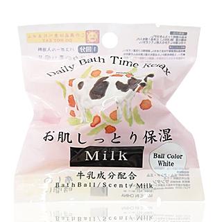 【Santan】保濕美肌沐浴球(牛奶香)