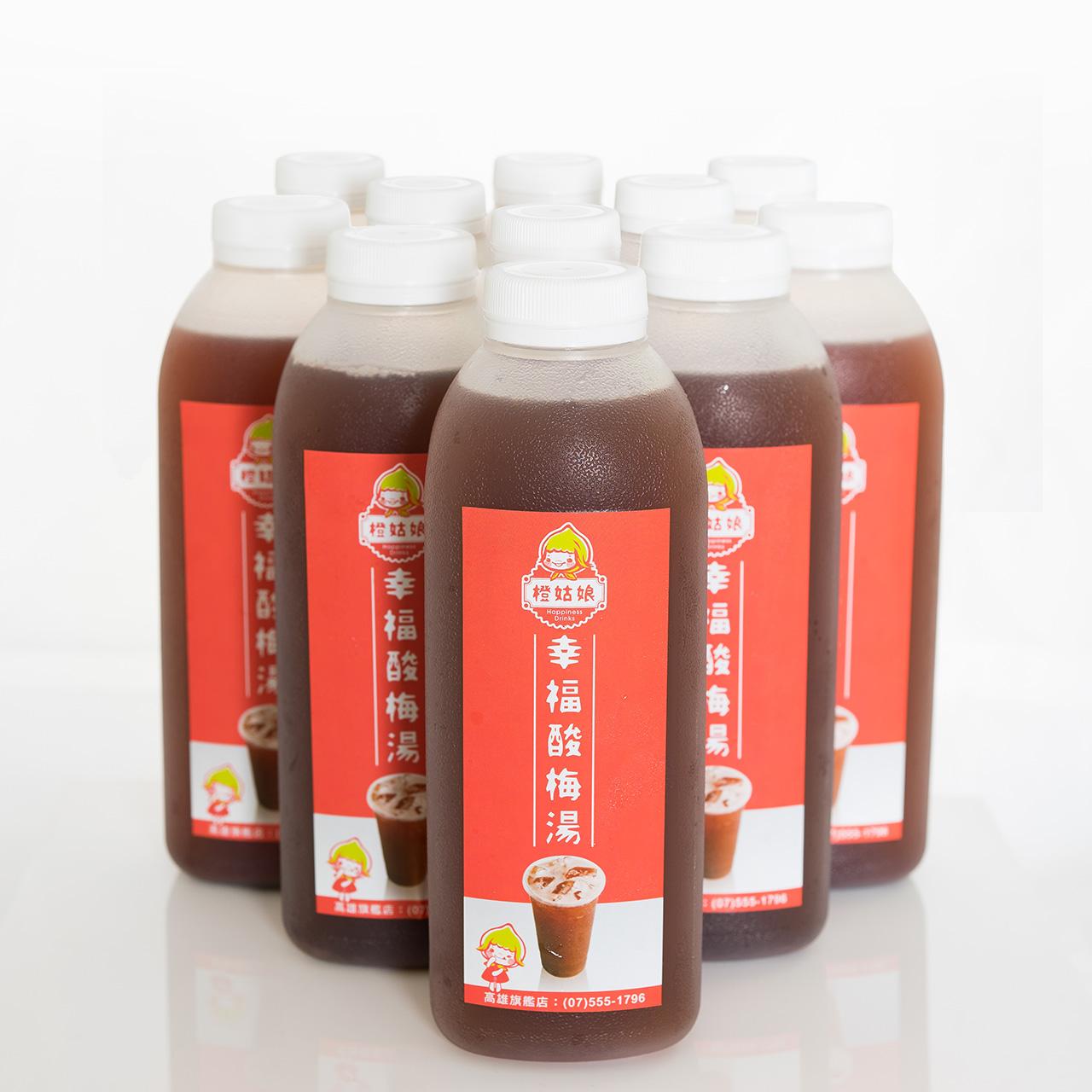 橙姑娘-招牌幸福酸梅湯(12瓶裝)