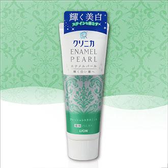 【Made in Japan】LION Japan 獅王 Toothpaste CLINICA ENAMEL PEARL Fresh Citrusl Mint 130g