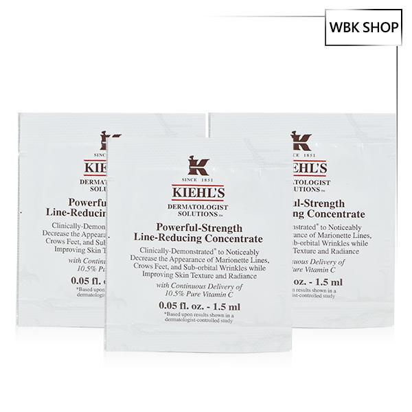 【限定免運】Kiehl's 契爾氏 10.5高效撫紋精華 1.5ml*3包入