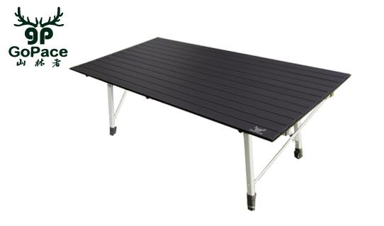 ├登山樂┤GoPace 山林者 GP17661 黑金鋼巨人蛋捲桌